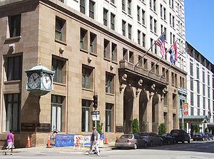 Commerce Trust Building - Image: Commerce Trust Building entry Kansas City MO