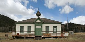 Como, Colorado - The Como School is listed on the National Register of Historic Places.