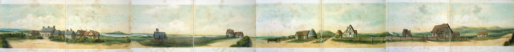 Complete Abraham, Caroline Harriet 1809-1877 Panorama of St John's college.png