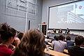 Conférence à l'Ecole polytechnique en amphi Gay Lussac Crédit photographique - © École polytechnique - J.Barande (33894949340).jpg