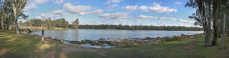 Confluence of Murray & Darling Rivers, Wentworth, NSW, 9.7.2007.jpg
