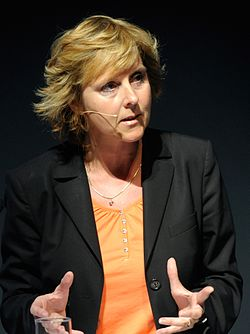 Connie Hedegaard Danmarks energi- och klimatminister under Nordic Climate Solutions. 2009-09-09 (cropped).jpg
