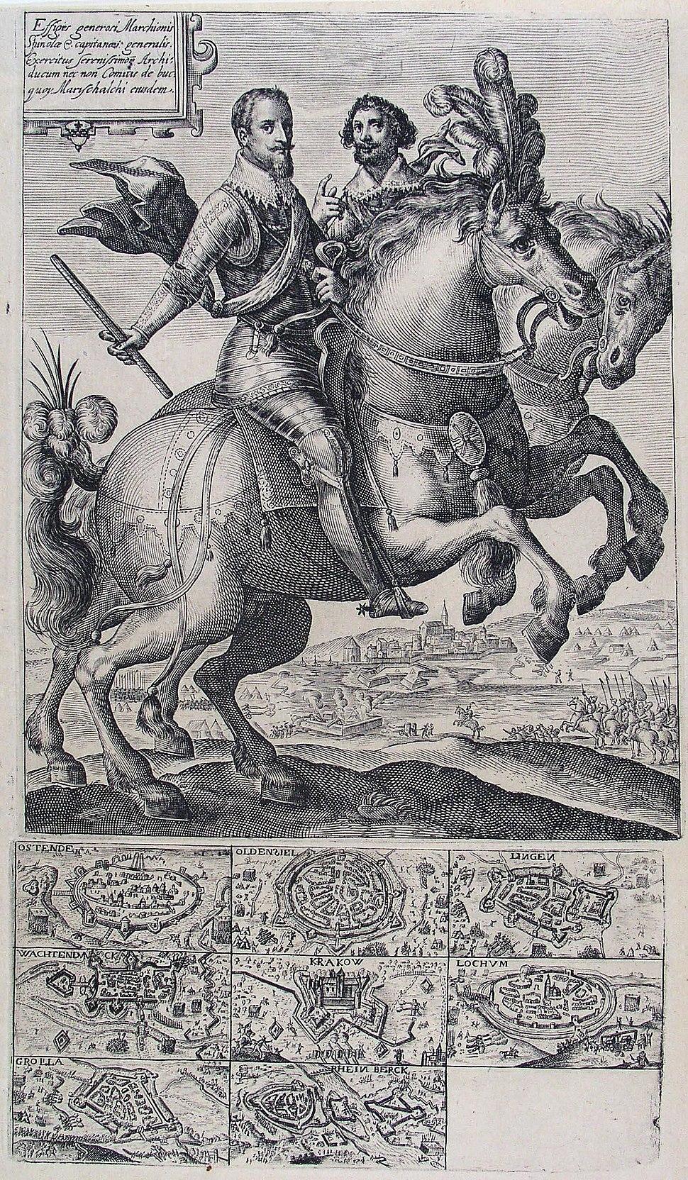 Conquests of Ambrosio Spinola (Crispijn van der Passe I)