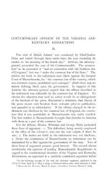 Contemporary Opinion of the Virginia and Kentucky Resolutions, p2.djvu