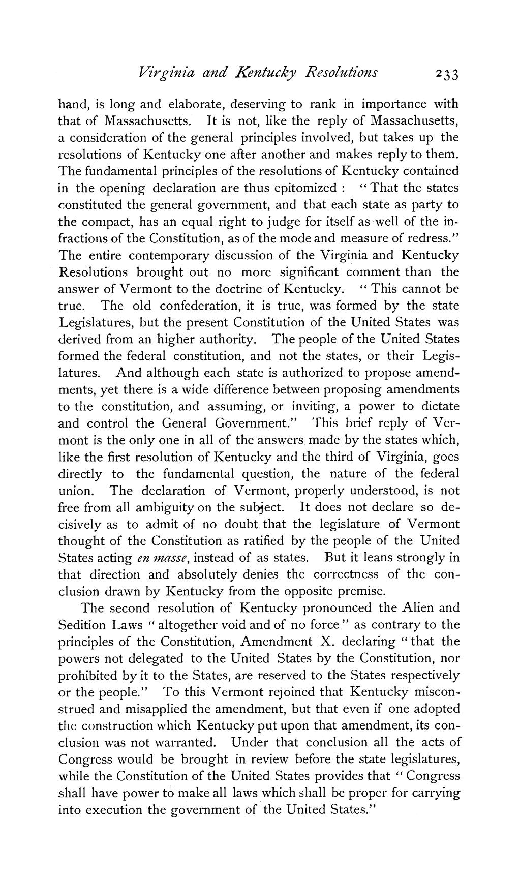 kentucky virginia resolutions essay The sedition act and the virginia and kentucky resolutions  the virginia and kentucky resolutions it might be said that in politics, as in physics, every action has an equal and opposite reaction  virginia and kentucky the authors of these famous resolutions were none other than james madison and thomas jefferson thomas ladenburg.