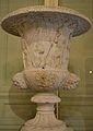Copa de marbre estil Mèdici, menjador del palau del marqés de Dosaigües.JPG