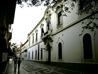 National University of Córdoba - The original administration building