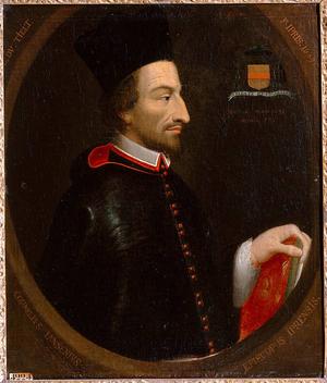 Cornelius Jansen - Painting of Cornelius Jansen.