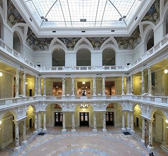 Museum of Ethnology, Vienna - Interior