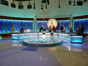 Countdown (game show) - The studio used until 2017 after the end of a game