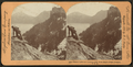 Crater Lake and Dutton Cliffs from Eagle Crags, Oregon, U.S.A, by Keystone View Company.png