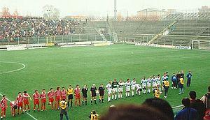 Stadio Giovanni Zini - Image: Cremonese West Ham AIC