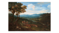 Crescenzio Onofri - An extensive landscape with a villa, figures in trees in the foreground.png