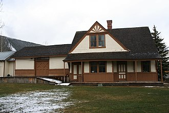 National Register of Historic Places listings in Gunnison County, Colorado - Image: Crested Butte Denver and Rio Grande Railroad Depot