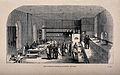 Crimean War, Turkey; Barrack Hospital kitchen, Scutari. Wood Wellcome V0015395.jpg