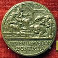 Cristoforo di geremia, medaglia di paolo II, verso con avdientia publica.JPG