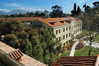 Pomona College - Crookshank Hall is one of the three academic buildings lining the Stanley Academic Quadrangle on the western edge of campus.