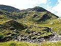 Crossing the Allt Mhalagain en route for Bealach Duibh Leac - geograph.org.uk - 976946.jpg