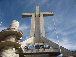 Coquimbo - Image: Cruz del tercer Milenio