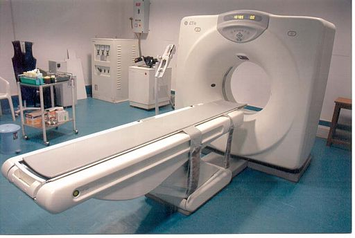 Diagnose mittels CT-Scan