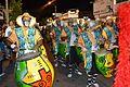 Cuerda de Tambores de Axe Elewa Desfile de Llamadas Mercedes 2014.jpg