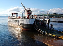Cumbrae ferry at Largs