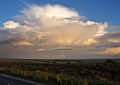 Cumulonimbus and rainbow near Winsford.jpg