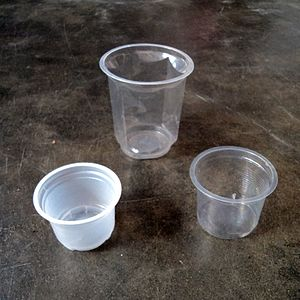 Disposable cup - Disposable plastic cups