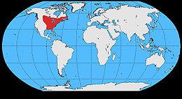 Cyanocitta cristata map