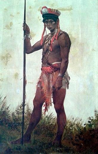 Tariana - Image: Décio Villares Chefe dos indígenas Uaupés