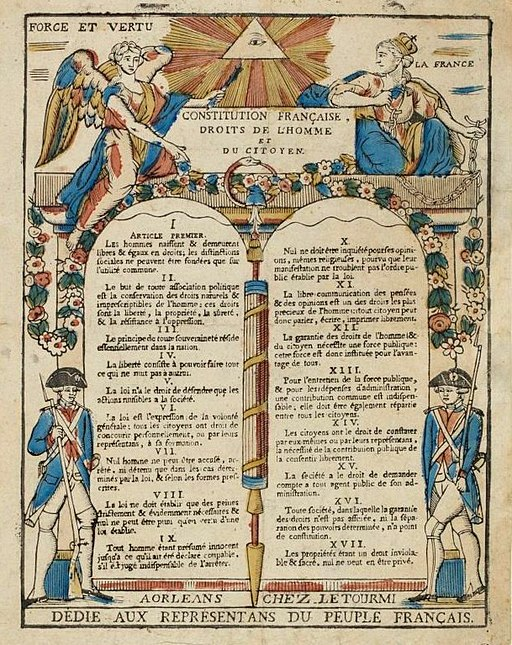 Déclaration des droits de l'Homme - Musée de la Révolution française