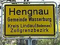 D-BY-Wasserburg (B)-Hengnau-Ortseingangsschild.JPG