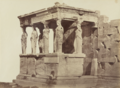 D. Constantin, Erechteheion, the Acropolis, Athens, 1860s, Albumen silver print, 27.3 x 37.4 cm, MoMA, 49.1982.png
