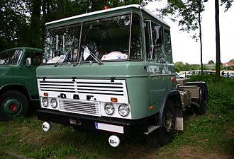 DAF Trucks - Classic DAF 2600 cab over truck