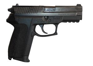 National Police (France) - SP 2022, the present standard issued sidearm of French police officers.