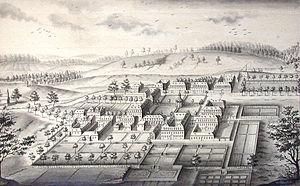 Herrnhaag - Herrnhaag as it looked in 1750.