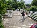 DIY level crossing - geograph.org.uk - 472558.jpg