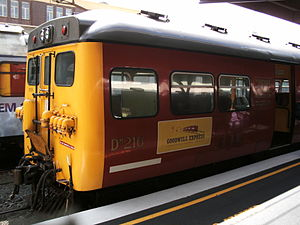 "National Railway Museum of New Zealand - Image: DM216 ""Phoenix"""