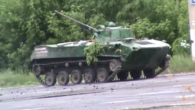 BD-2 in Ukraine, Donbass war
