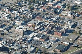 Clinton, Iowa - Image: DSC 0217 Downtown Clinton