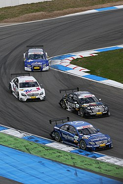 DTM på Hockenheimring i april 2008.