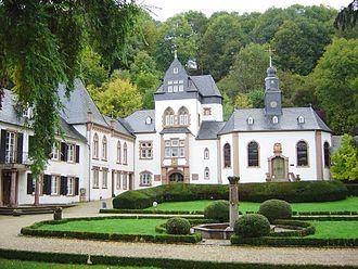 Dagstuhl - Schloss Dagstuhl's original buildings.