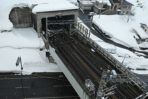 Daishimizu Tunnel Echigo-Yuzawa