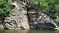 Dalešická přehrada, skála smíchu II-alibaba - panoramio.jpg