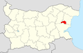 Dalgopol Municipality Within Bulgaria.png