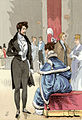 Dandyism in the Romantic period - a ballroom in 1834.jpg