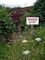 Danger, Live Bees - geograph.org.uk - 486580.jpg