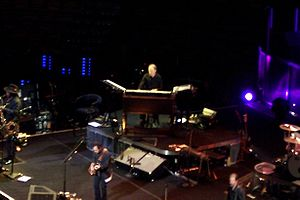 Danny Federici - Federici playing organ with the E Street Band, November 2007.