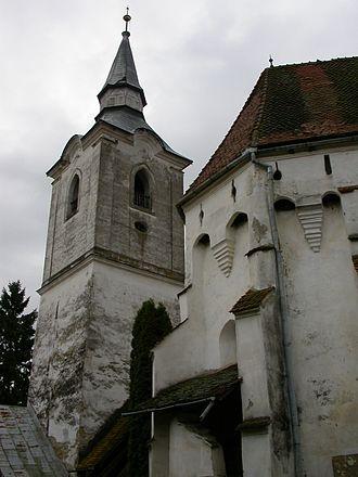 Dârjiu fortified church - Image: Darjiu Ansamblu