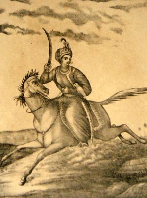 Kalki Purana - Kalki on horse